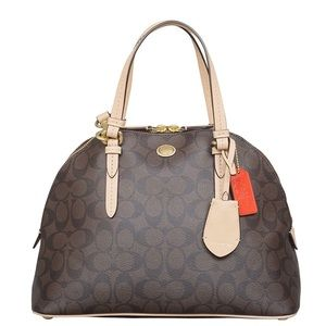 Coach Cora Peyton Dome Purse